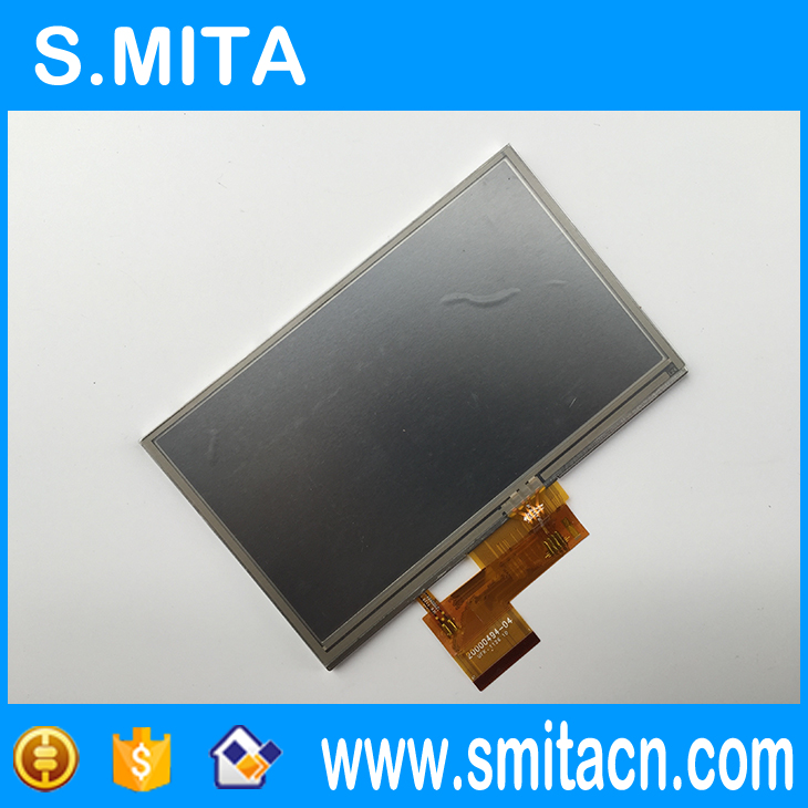 5 polegada para Garmin Nuvi 1490 1490 t 1460 1460 t AT050TN34 AT050TN34 V1 TFT lcd digitador