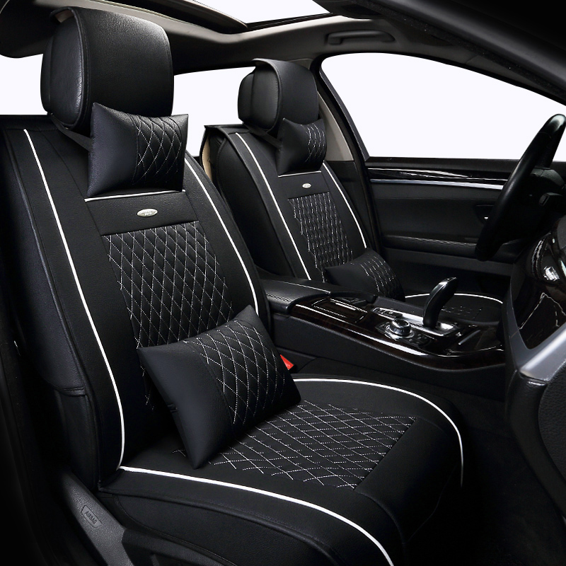buy pu leather car seat cover set for porsche panamera cayenne suv car seats. Black Bedroom Furniture Sets. Home Design Ideas