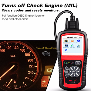 Image 5 - Autel 100% Originl OBD2 Scanner Car Diagnostic tool Code Reader AutoLink AL519 OBD Automotive Tool  EOBD  Automotive Scanner