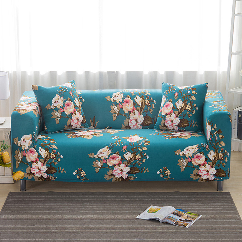Slipcover Furniture Living Room: Hot Sofa Cover Elastic For Living Room Armchair Furniture