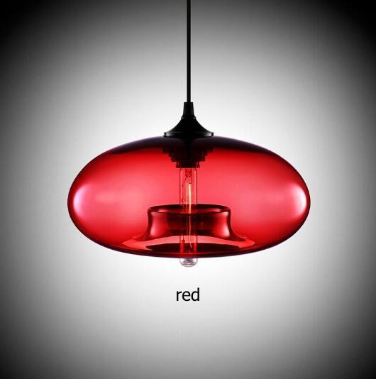 Nordic Modern Hanging Lamp Body Color: Red Ships From: Russian Federation