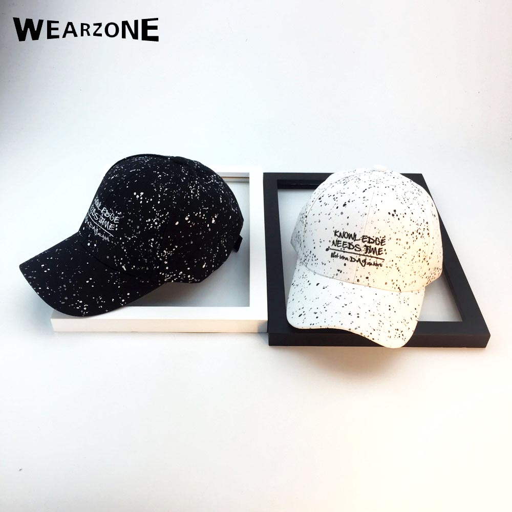 Wearzone 2017 New Hip Hop Cap Adult Cotton Letters Embroidery Baseball Cap Graffiti Adjustable Hat for Men and Women Trucker hat summer fashion letters embroidery hip hop baseball cap for men