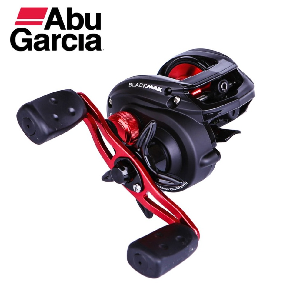 100% Abu Garcia Black Max3 BMAX3 Left Right Hand Baitcasting Reel 4BB 6.4:1 Bait Casting Fishing Reel Max 5Kg Carretilha Pesca 12 1bb 6 3 1 left right hand casting fishing reel cnc fishing reels carp bait baitcasting carretilha de pesca molinete shimano