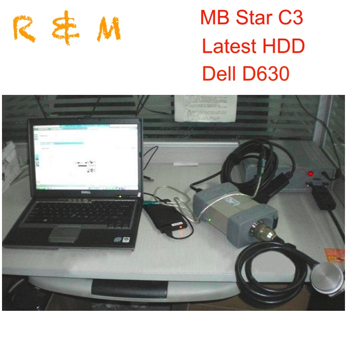 New Mb Star C3 Full Set With All Cables Mb Star Diagnosis C3 Multiplexer With Activate Software Hdd Rs232 Cable In D630 Laptop Car Repair Tools Back To Search Resultsautomobiles & Motorcycles