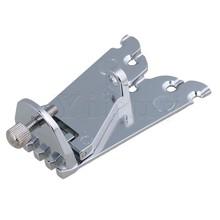Yibuy 67 x 25mm Silver 5 String Banjo Tailpiece for Guitar Parts Replacement цена