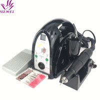 2017 New Professional 65W 35000RPM Electric Nail Drill Machine File Kit Bits Manicure Pedicure kits for salon use for nail tools