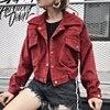 High Quality 2017 Women Spring Autumn Bomber Coat Red Jacket Ladies Windbreaker Female Winter Bomber