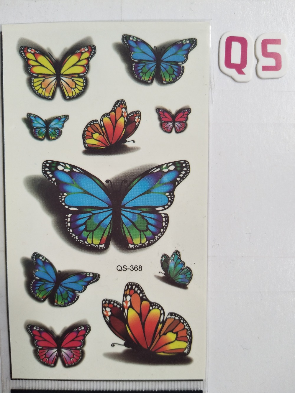 Waterproof Temporary Tattoo Stickers Butterfly Insect Fake Tatto Geometric Animal Flash Tatoo Hand Back Foot For Girl Women Men Temporary Tattoos Aliexpress