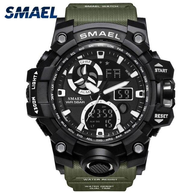 Army Watches Digital Backlight Relogio Masculino Alarm Watch Men Military LED Wr
