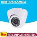 Oferta especial CCTV 1080 P AHD Câmera de Segurança Em Casa IR Cut Mini Branco Interior Dome 24led Infravermelho Night Vision 2.0MP vigilância