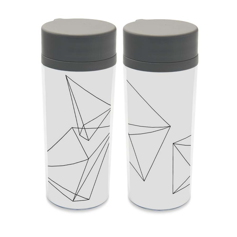 compare prices on modern drinks online shoppingbuy low price  - personalized black white shape geometric drinkware bpa free plasticinsulated modern abstract cute kids water bottles