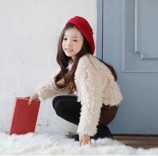 סתיו חורף 2019 manteau hiver פו פרווה בנות להאריך ימים יותר adolescente filles ילדים חם מעיל רוח ילדי של עבה מעילי S600
