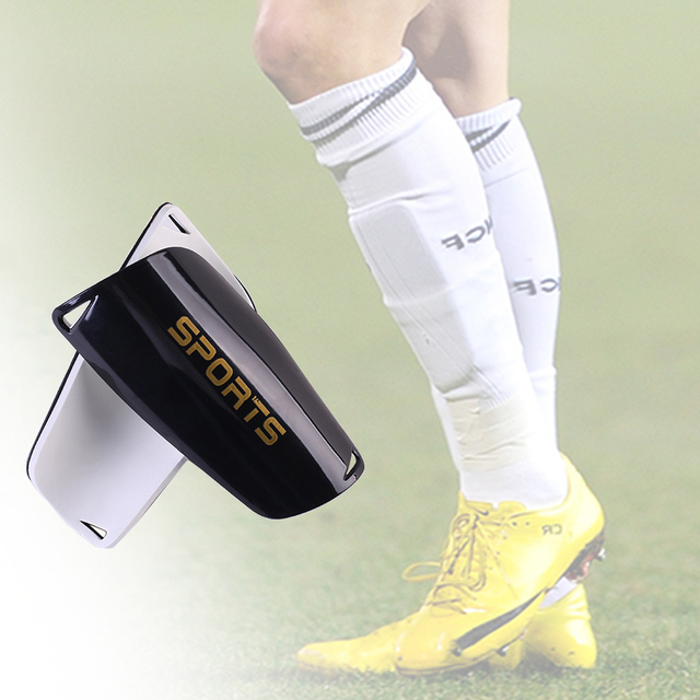 1 Pair Soccer Shin Guards Pads For Adult/Kids Football Shin Pads Leg Sleeves Knee Support Sock fast shipping