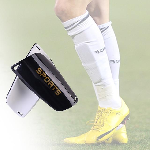 1 par de protectores de espinillas de fútbol para adultos/niños almohadillas de espinillas de fútbol mangas de rodilla soporte calcetín envío gratis