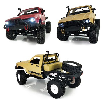 WPL C-14 C14 1:16 2ch 4wd Children RC Truck 2.4G Off-Road Truck Electric RC Car 15km/H Top Speed RTR/KIT Mini Racing Car Toy