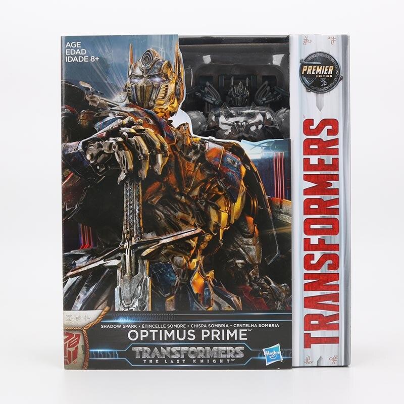 Transformateurs le dernier chevalier ombre étincelle sombre Optimus Prime PVC figurine Collection modèle poupée jouets première édition - 6