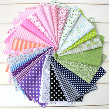 2017 52pcs 100% Cotton Fabric Real Telas Tissu Series Fat Quarters Bundle for Quilting Sewing 10x10cm Fabric for Doll Clothes