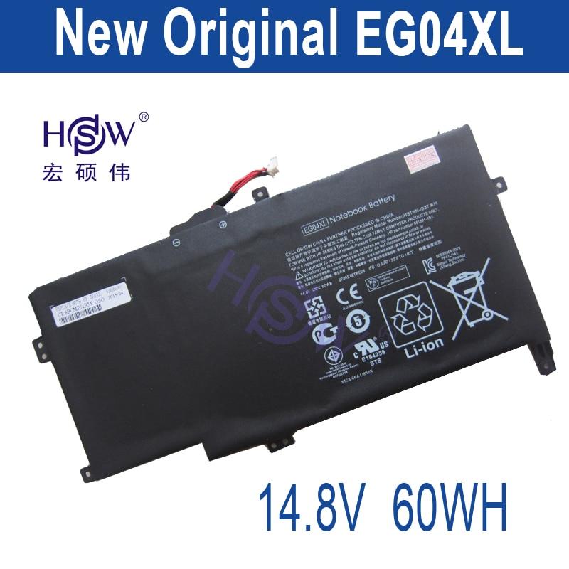 HSW 60WH New Laptop Battery EG04XL for HP Envy Sleekbook 6 Series 681881-121 681881-271 TPN-C103 HSTNN-IB3T bateria laser head sf 860 sf hd860