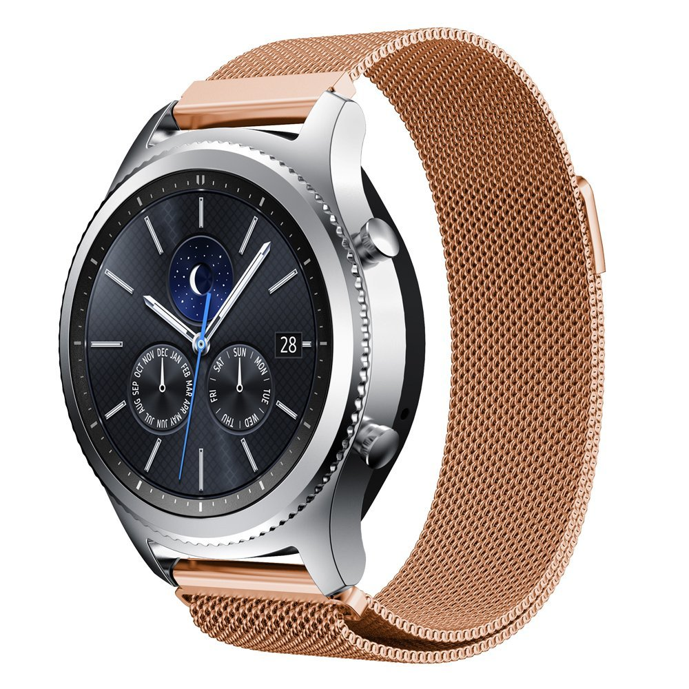 Milanese Loop Watchband For Samsung Gear S3 Classic Strap For Gear S3 Frontier Stainless Steel Metal  Band  Magnetic Closure смарт часы samsung gear s3 frontier матовый титан