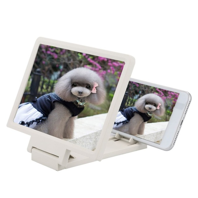 US $2 93 27% OFF|Dropshipping 3D Screen Magnifier for Cell Phone xiaomi  samsung lenovel tablet Video Screen Holder Folding Enlarged Expander-in