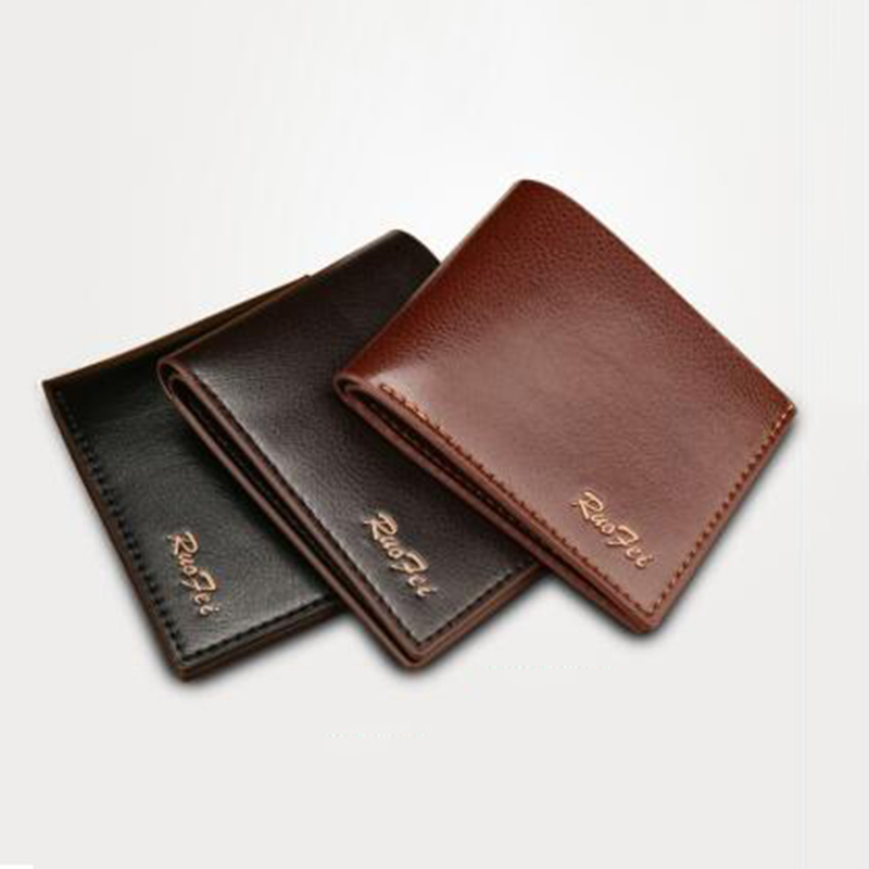 Mens Wallet Business Card Holders Mini Id Credit Card Holder High Quality Brand Male Wallets Fashion Short Thin Small Purse