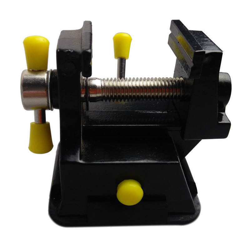 New Mini Table Top Bench Vice Vise Press Clamp Rubber Suction Base Carving Fixture Tool -- JDH99 luxury indonesia ebony pure copper rod woodworking tool table bench vise vice seal stone holding cutting clamp tool