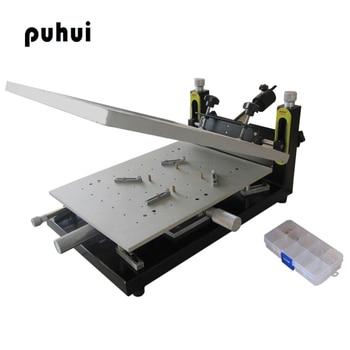 PUHUI High Precision Solder Paste Printer PCB board welding 300x400
