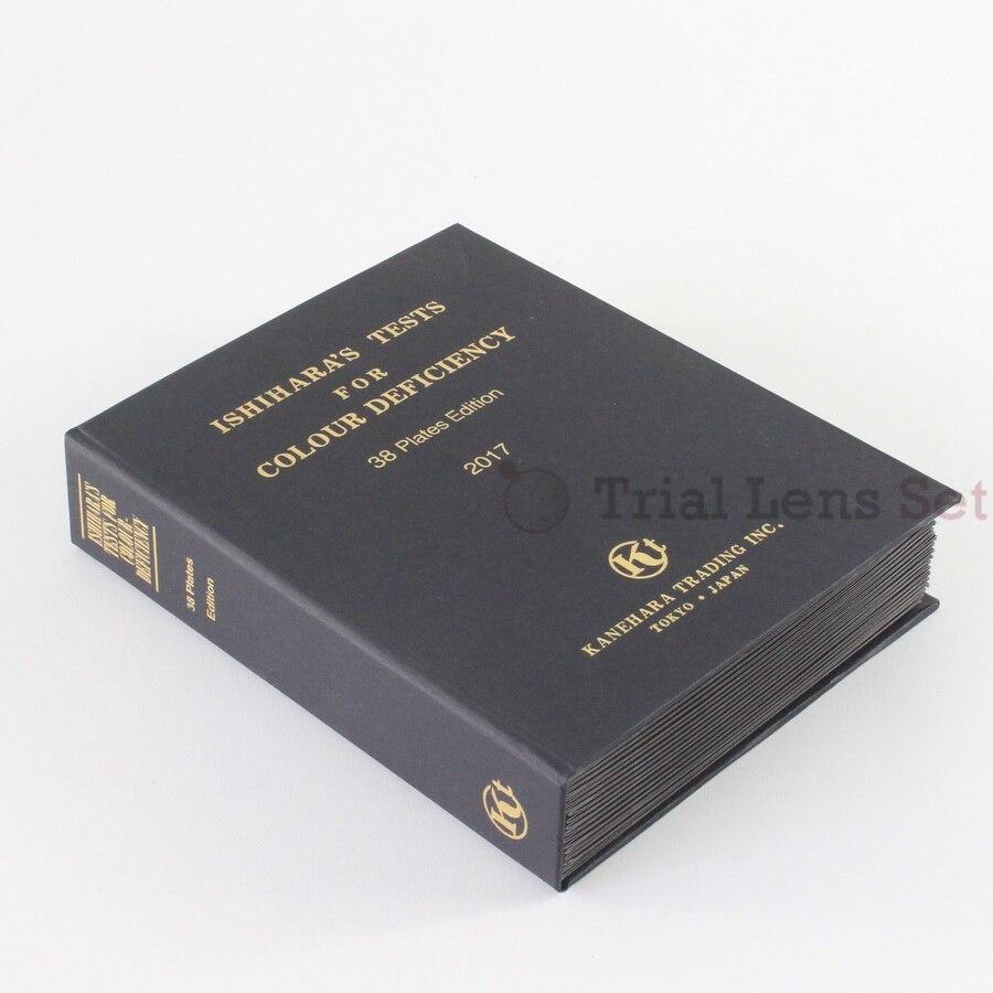 Uus 2019. aasta Ishihara raamat 38 plaati | Optomeetria värvipimeduse värvipuuduse katseraamat | 2019 uus avaldamine | 2019 tähistatud