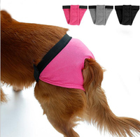 Pet Dog Physiological Underwear Pets Tighten Sanitary Briefs Pants Dog Diaper Female Small Big Dog Physiological