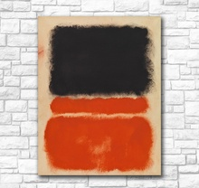 Handpainted Wall Pictures For Living Room Abstract Mark Rothko Red Canvas Art Home Decor Modern No Frame Oil Painting handpainted mark rothko classical oil painting for living room wall art canvas decorative pictures no frame