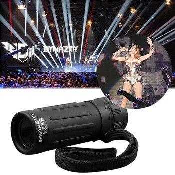 Monocular Telescope Super High Power 8X21 Portable HD OPTICS BAK4 Night Vision Monocular Telescope Safety & Survival Z0809