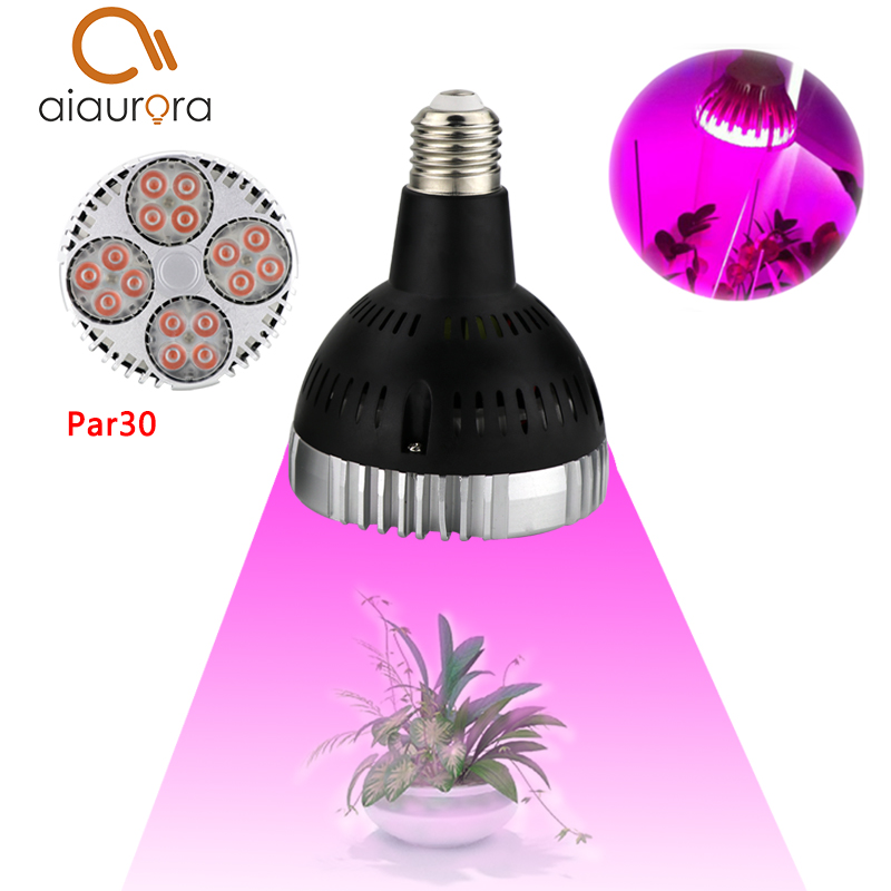 1Pcs 35W Real Power Led Grow Light Full Spectrum LED Indoor Plant Lamp Hydroponic system Greenhouse LED Lamps for plants Flower