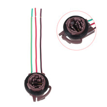 3157 wedge bulb sockets harness wire led light socket automobile 3157 plug  sockets