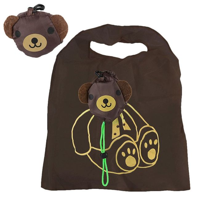 New Reusable Handbag Grocery Tote Storage Eco Travel Animal Shopping Bag Travel packing Organizers(Random Color) Free Shipping Shopping Bags
