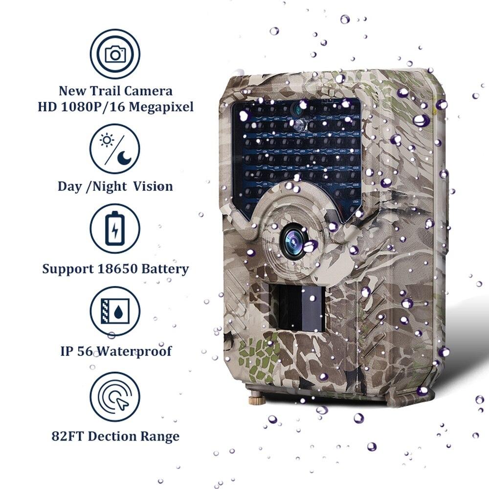 Caméra de chasse étanche à la poussière infrarouge 1080 P 12MP caméras de sentier faune chasse caméscope accessoires de chasse