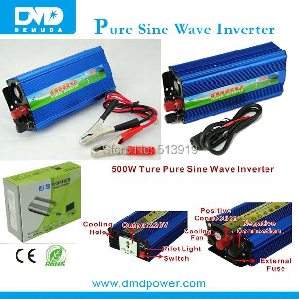 DMD Popular 500W dc to ac power inverter for solar system