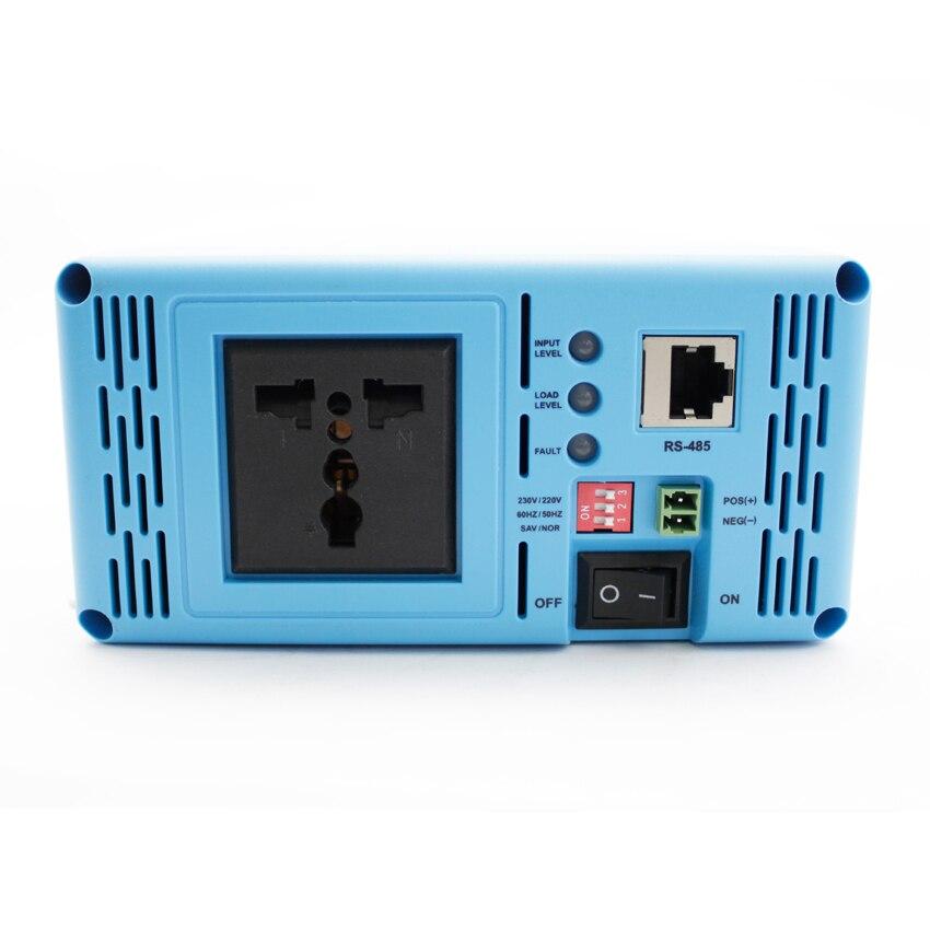 Off grid tie inverter 600 watt 230 v 220 v ausgang reine sinus welle EU/AU buchse optional SHI600 12 v 24 v DC eingang EPEVER Produkte - 4
