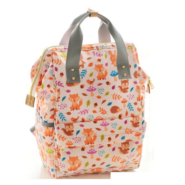 Cute Animals Baby Diaper Bag Backpack Large Ny Tote Maternity Bags Care