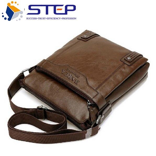 b2c2ee31e56 2017 Hot Selling New Style Wax Leather Men Messenger Bags Shoulder Bags  BARCA Hannibal Handbags Men Travel Bags M206