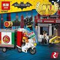 Новый Лепин 07057 Подлинная Серии Фильма Бэтмен Пугало Доставка Пиццы Автомобиля Набор 70910 Строительные Блоки Кирпичи Развивающие Игрушки