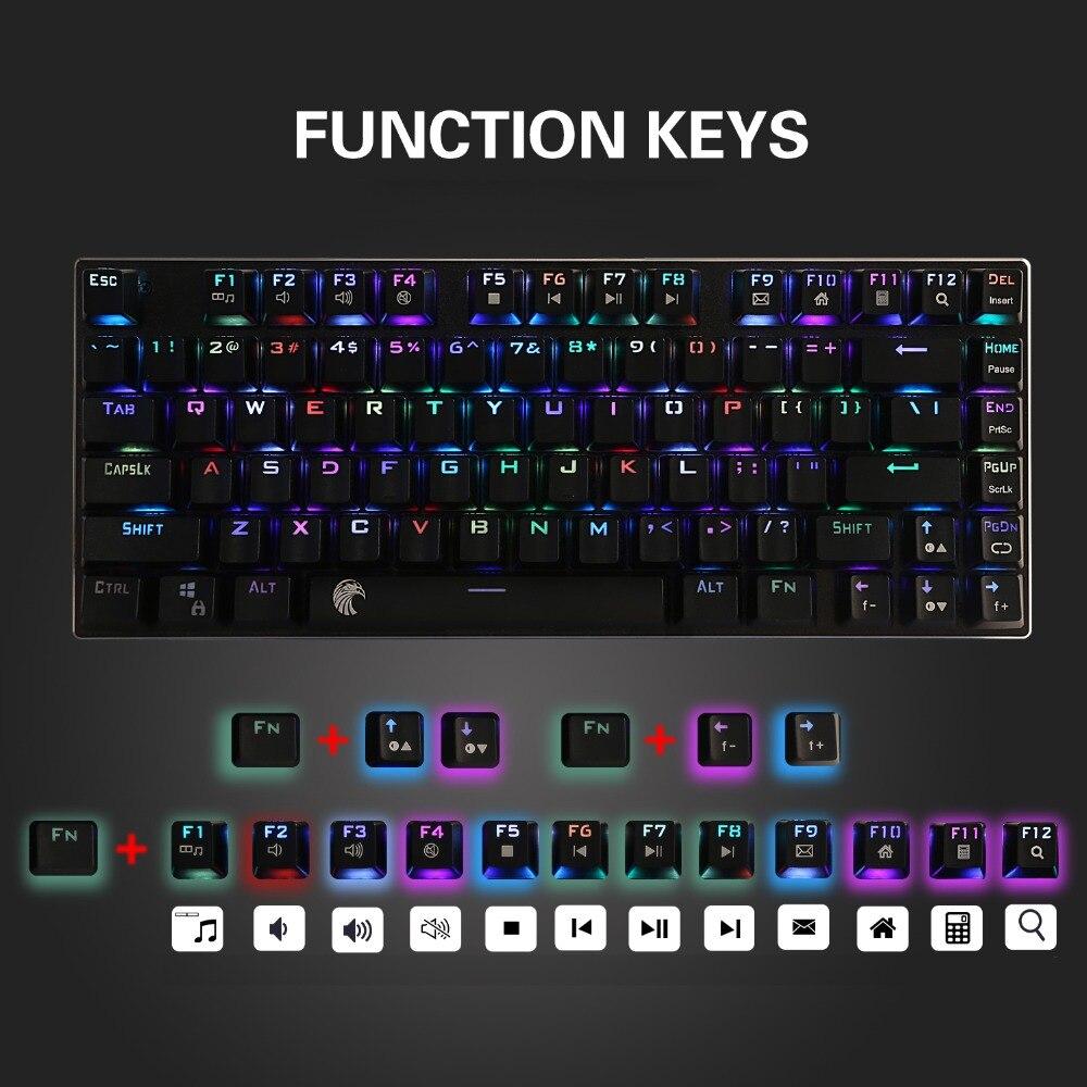 8. multimedia keyboard mechanical