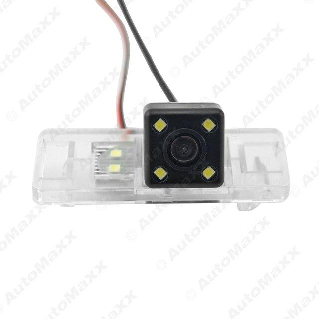 Автомобиль CCD Камера Заднего вида Со СВЕТОДИОДНОЙ Подсветкой Для Nissan QASHQAI/X-TRAIL/Geniss/Солнечно/Pathfinder/Citroen C4/C5 # FD-4707