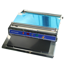 Manual Transparent film wrapping machine manual for meet, fruit, food HW-450