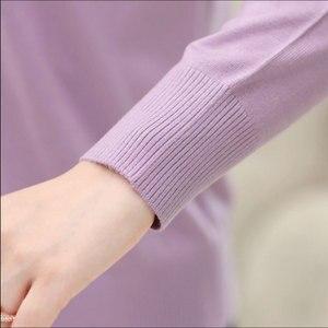 Image 5 - Mùa Xuân Năm 2020 Auutumn Tuổi Trung Niên Nữ Mẹ Bộ Quần Áo Áo Len Cardigan Nữ Áo Len Thời Trang Họa Tiết Hoa Nữ Outerwea QH0194