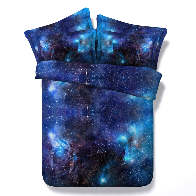 Vivid Moon Star Galaxy bedding sets twin full queen king ...