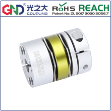 GLB aluminum alloy 8 screws double diaphragm series shaft couplings цены