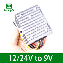 Step Down Converter DC to DC 12V-24V to 9V 10A 15A Waterproof Voltage Reducer Converter Regulator for Golf Carts Led Strip Light wholesale 10pcs waterproof dc dc converter regulator 10v 35v 12v 24v step down to 5v 75w 15a free shipping