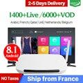 IPTV Francia Arabo Android 8.1 Smart QHDTV Box 1 Anno QHDTV Codice Abbonamento IPTV Paesi Bassi Belgio Arabo Francese IP TV