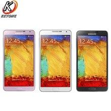 Original Nouveau Samsung Galaxy Note 3 N9005 Mobile Téléphone 5.7 pouces Quad Core 3 GB RAM 32 GB ROM 3200 mAh 13.0MP Android téléphone portable