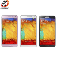 Original New Samsung Galaxy Note 3 N9005 Mobile Phone 5.7 inch Quad Core 3GB RAM 32GB ROM 3200mAh 13.0MP Android CellPhone